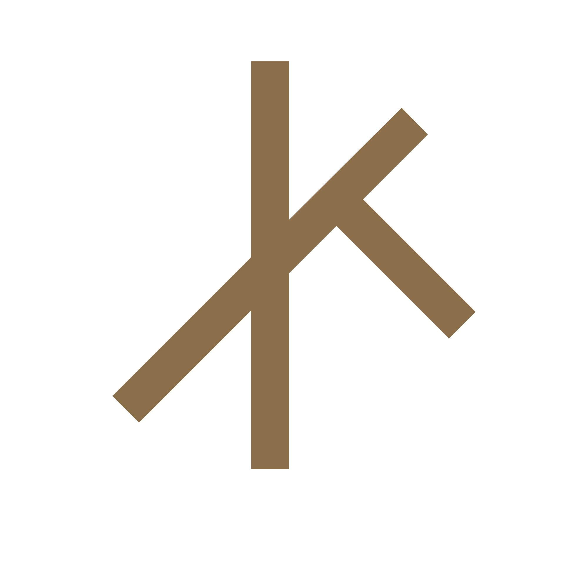 Rustikk-logo